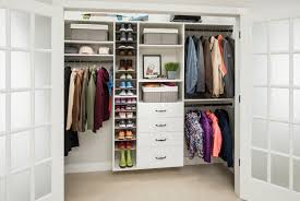 trick 1 white laminate wall hung closet