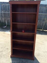 lot 8 5 tier wood book shelf