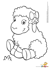 Small Picture Happy Sheep Coloring Page Coloring Pages Pinterest Sheep
