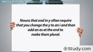 Singular Plural Nouns Definitions Rules Examples