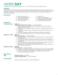 Social Media Resume Example Resume Template Professional Snapshoot Marketing Contemporary 4