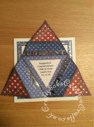 Star Fold Engagement Card5 Craftybabs Creative Crafts