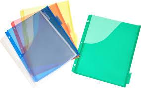 Plastic Expanding Pocket Dividers 5 Tab