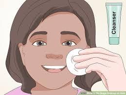 image led do se makeup on kids step 10
