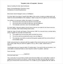 business complaint letter templates sample example business complaint letter sample