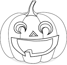pumpkin clipart black and white. Perfect White Clipart  Pumpkin Coloring Page Banner Free Download To Black And White E