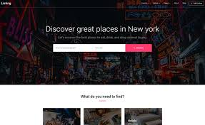 Free Html5 Website Templates Custom Bootstrap Based Free HTML48 Directory Template For Listing Websites