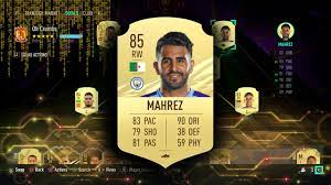 FIFA 21 RIYAD MAHREZ PLAYER REVIEW - YouTube