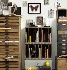 Vintage Home Office Storage Shelves Mr Blacksmith