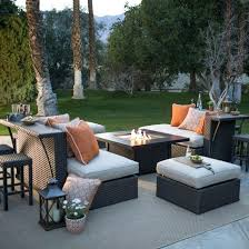 patio furniture around fire pit table chairs portable outdoor round gas garden with set uk