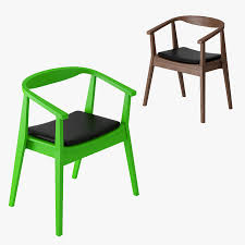 4 ikea stockholm chair royalty free 3d model preview no