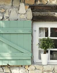 traditionally used to insulate and ventilate a house shutters also are useful when designing a sustainable building and they look great