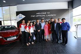 azam motors has invested about rm3 million in the mazda 3s centre permas jaya this is the 3rd branch for azam motor this mazda dealer effectively covers