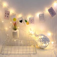 Đèn LED Chụp Ảnh Kẹp Dây Đèn 2M/5M/10M Tiên Đèn Treo Tranh Ký Túc Xá Phòng  Ngủ treo Tường Trang Trí Tiệc Cưới D40|Dây Đèn LED