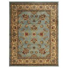 king collection mahal oriental seafoam 8 ft x 10 ft indoor area rug