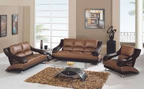 Living Room Furniture Set Brown Leather Living Room Furniture Luxhotelsinfo