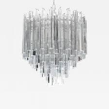 listings furniture lighting chandeliers and pendants camer glass tiered italian crystal