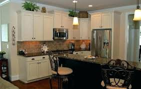 backsplash with white countertops with granite tile with black granite interior kitchen granite tile black white