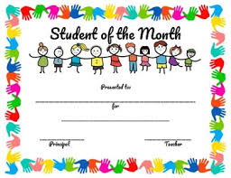 Student Of The Month Certificates Student Of The Month Certificate Pbis Inspired By Craftyteacher246