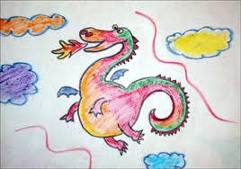 Aprender a dibujar dibuja un dragón - es.hellokids.com