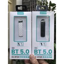 Tai nghe bluetooth Usams BT001 V5.0, pin trâu, âm thanh hay