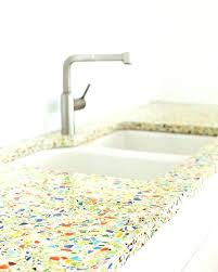 recycled glass kitchen design idea 5 unconventional materials you can use for a countertops home depot recycled glass
