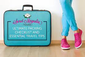 Packing Lists Sweet Magnolia's Ultimate Packing Checklist and Essential Travel ...