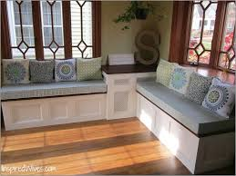 Living Room Bench With Back Furniture Indoor Wood Bench Storage Space Natural Pictures Benches