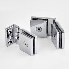 kitchen cabinet door hinges beautiful 1set zinc alloy glass door hinge single double hinges installation