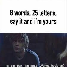 Tate Langdon Quotes Stunning Tate Langdon Quotes Hľadať Googlom Evan Peters AHS Pinterest