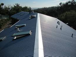 corrugated metal roof panels