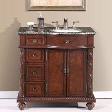quot silkroad ilene single sink cabinet bathroom  inch bathroom vanity only vanities