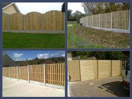 timber fencing posts