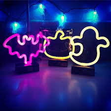 Halloween Neon Lights Light Up Halloween Night With These 5 Neon Lights From Target