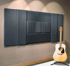 walls with soundproofing insulation acoustic foam
