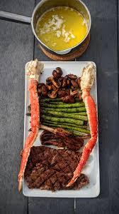 Homemade] Steak, Lamb & King Crab : food