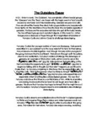 how to write a strong personal the outsiders book report essay the outsiders book report essay