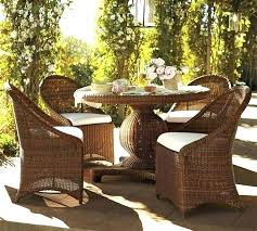 outdoor dining chairs wicker resin wicker dining set log dining table wicker round wicker table with