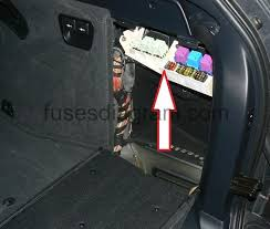 fuse box bmw x5 e53 fuse box location