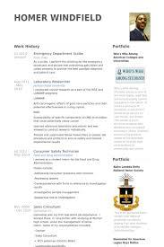 Emergency Department Scribe Resume samples