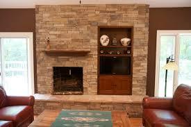 Interior Stone Trends  Dry Stack Stone Stone Veneer And StoneStacked Stone Veneer Fireplace