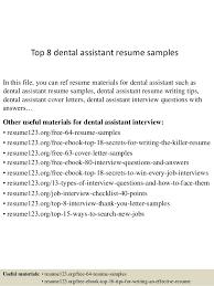 Dental Assistant Objective For Resume top10000dentalassistantresumesamples1006310000jpgcb=1004299310071000 57
