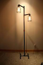 black iron pipe floor lamp faucet switch by diy black iron pipe floor lamp faucet switch by diy
