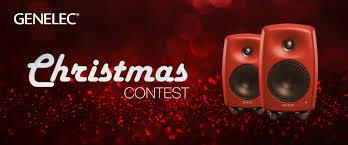 Christmas contest - Win <b>a pair</b> of G Three loudspeakers - Genelec.com