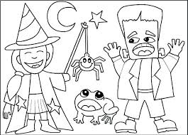 Coloring Pages Printables Halloween Coloring Sheets Pages For Page