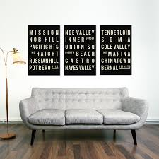 Living Room Artwork San Francisco Art Etsy