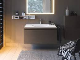 Duravit Bathroom Sink L Cube C Bonded Wall Mounted Vanity Unit By Duravit Design