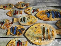 Znalezione obrazy dla zapytania ceramika ryby