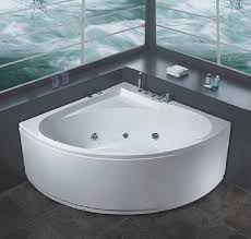 creating a relaxing bathroom by installing jacuzzi tubs modern white corner jacuzzi bathtubs