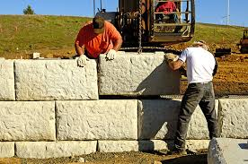 concrete retaining wall for your property